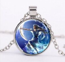 Greek Goddess Artemis  necklace Pendant + gift  Box - Wicca Pentagram Witchcraft