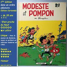 Modeste et Pompon, R1, Franquin, Magic Strip, EO, 1981, EN, C