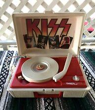 Vintage 1978 Kiss Record Player Phonograph Turntable