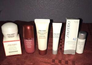 Shiseido 5Pc Travel Set Essential Energy Eye Definer Moisture Cream Ultimune UV