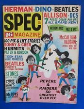 1966 16 Magazine Winter Spectacular VG/FN Beatles Beatlemania Pin-Ups Stones
