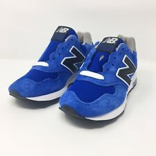 New Balance Kids Classic 1400 Size 6 Blue Black Made In USA Athletic M1400CBY