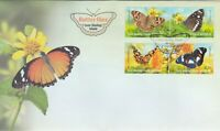 CK20) Cocos (Keeling) Islands 2012 Butterflies FDC