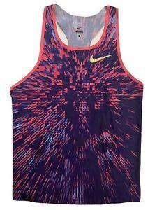 RARE Nike Elite Pro Track & Field Singlet Gold Medal Swoosh