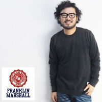 FRANKLIN & MARSHALL FELPA COTONE UOMO GRIGIO SCURO