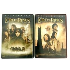 The Lord of the Rings: Two Towers & Fellowship of Ring Full Screen 2 Dvd Set