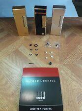 Full Dunhill rollagas repair kits ~ New wheel, flint, seals, filter (no lighter)