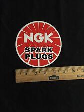 "NGK Spark Plug Stickers 5"""