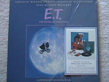 E.T. STORYBOOK ALBUM SPECIAL EDITION W/ POSTER & STORYBOOK FACTORY SEALED