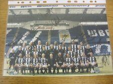 """2000/2001 West Bromwich Albion - A Large Autographed 12""""x 8"""" Colour Team Group P"""