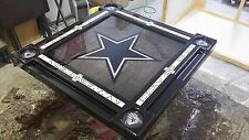 Dallas Cowboys Star Domino Tables by Art with Your Family Name Custom Added