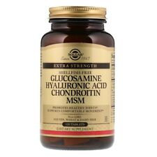 Glucosamine Hyaluronic Acid Chondroitin MSM, 120 Tablets - Solgar