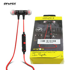AWEI Wireless Bluetooth MIC Sport Stereo Headset Noise Earbuds BT 4.0 Headphones