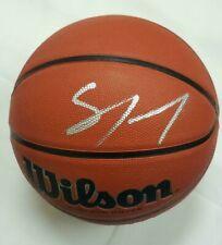 Sam Cassell Signed Official Wilson NCAA Basketball (Bucks, Wolves, Clippers) COA