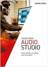 MAGIX SOUND FORGE AUDIO STUDIO 12 PC WINDOWS GENUINE LIFETIME DIGITAL KEY