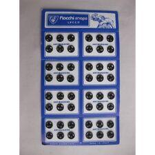 5034) N. 48 Bottoni automatici a pressione in metallo colore nero mm 7