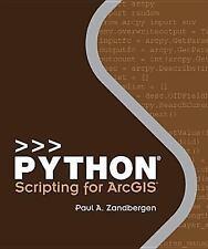 Python Scripting for ArcGIS by Zandbergen, Paul A.