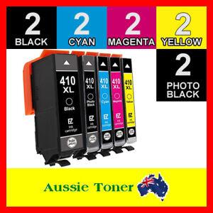 10x Generic Ink Cartridge 410 XL 410XL for Epson XP530 XP540 XP630 XP640 XP900