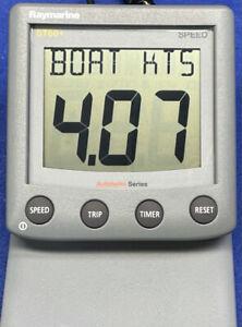 Raymarine ST60+ Speed Temp Log SOG Instrument Display A22009-P Raytheon Autohelm