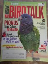 **BIRD TALK MAGAZINE Jun 10 Pionus Clean Air Goffin Cockatoo Cleaning Seed Moths