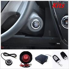 PKE Passive Keyless Entry Car Alarm Remote Start Push Button Start With Flip Key