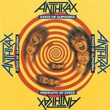 CDs de música metal rap de álbum anthrax