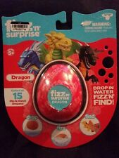 Fizz 'N' Surprise Dragons Moose Egg Toy Misb 2019 15 Dragons To Collect!