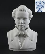 Bisquit Porzellan Büste Franz Schubert Kämmer H12cm 9944074