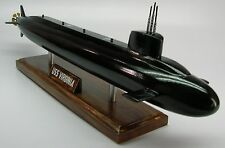 USS Virginia SSN-774 USA Submarine Desktop Wood Model Small