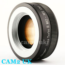 Zhongyi Focal Reducer Lens Turbo II Booster M42 mount to Sony E Adapter NEX-5T 7