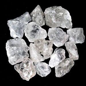 900 g Bergkristall / Brasilien Rohsteine Wassersteine Dekochips A/B - Qualität