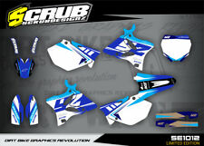 Yamaha graphics YZ 125 - 250 '06 - '14 2006 - 2014 SCRUB decals (Alloy frame)