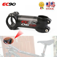 1PC 6/17° 60-120mm Stem MTB/Road Bike Handlebar Stem 28.6mm Carbon+AL Black Matt