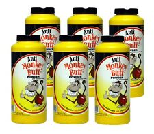 Case of 6 06017 Mens Anti Monkey Butt Powder w/ Calamine 6oz Shaker Bottle