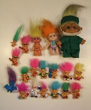 Figures figurines VINTAGE TROLLS MATTEL BULLY HASBRO MEGO 80's