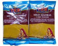 Madras Curry Powder - Mild - 2 x 100g Bags - TRS Brand