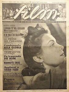 Rivista Cinematografo Teatro e Radio - Film N. 2 - Janine d'Arcey - 1944