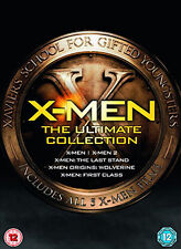 DVD:X-MEN - THE ULTIMATE COLLECTION - NEW Region 2 UK