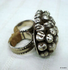 vintage ring antique ring ethnic old silver double ring tribal jewelry