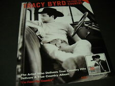 TRACY BYRD says I'M FROM THE COUNTRY sitting in his truck 1998 PROMO POSTER AD