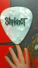 SLIPKNOT Mick Thomson guitar pick - (white marble) NEW LISTING!