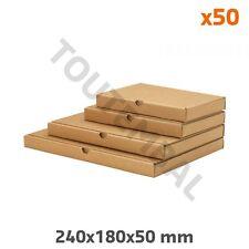 Boite d'emballage postal carton extra-plate 240x180x50 mm (par 50)