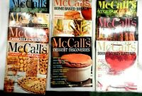 Vntg.McCall's Cookbook Collection Recipe Lot of 10 of 18 Books OUT OF PRINT 1980