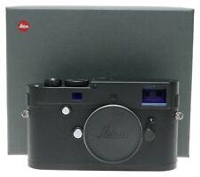 Leica M Monochrom digital camera Typ 246 LNIB complete 10930 black used 24 MP