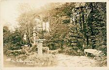 "Couple Poses ""In Home Garden"", Cincinnati OH RPPC"