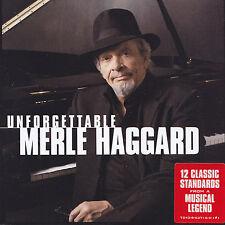 MERLE HAGGARD - CD - UNFORGETTABLE