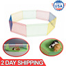 Small Animal Guinea Pig Pet Exercise Portable Playpen Panel Gerbils Cage Indoor