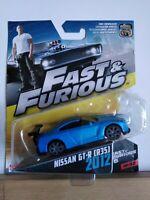 Rare Mattel fast and furious 1/55 Ben Sopra NISSAN GTR