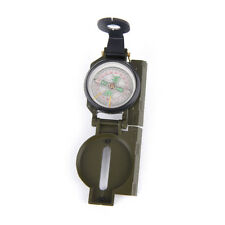 1pc new portable folding lens compass multifunction camping outdoor campass tool