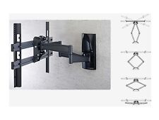 "Cantilever Wallmount Bracket Swivel & Tilt 37"" to 65"" Inch TV's Double Arm"